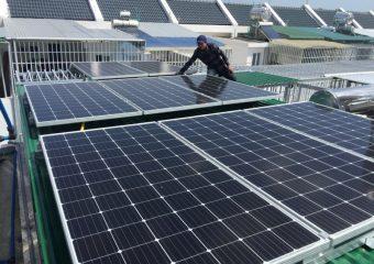 Hệ thống điện năng lượng mặt trời dân dụng